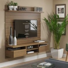 Living room tv wall decor tv shelf 19 new Ideas Tv Cabinet Design, Tv Wall Design, House Design, Tv Design, Tv Unit Decor, Tv Wall Decor, Tv Wall Cabinets, Tv Unit Furniture, Modern Furniture