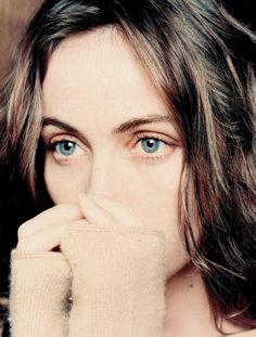 Emmanuelle Béart - deep set eyes