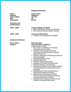 cool beautiful beauty advisor resume that brings you to your dream job check more at beauty consultant resume