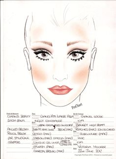 Recent Prom Make-up I did.  Modern take on a 60s Twiggy