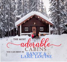 The Cutest Cabin Rentals in Banff and Lake Louise, Alberta – jenn explores - travel, landscape and lifestyle photographer % Lake Louise Alberta Canada, Lake Louise Banff, Chateau Lake Louise, Banff Cabins, Lake Cabins, Banff National Park, National Parks, Alberta Travel, Canadian Travel