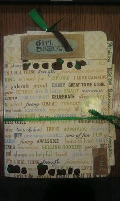 DIY Girl Scout Idea Book