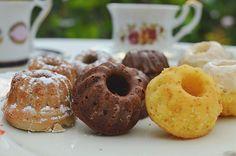 Mini-Gugls - Nutella-Gugl, Rotwein-Gugl und Eierlikör-Gugl