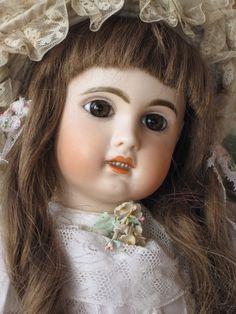 BELIEBTE FRANZÖSISCHE PORZELLANKOPFPUPPE * BÉBÉ JUMEAU * um 1898 . 50 cm in Antiquitäten & Kunst, Antikspielzeug, Puppen & Zubehör | eBay