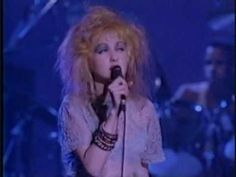 Live in Paris - Cindy Lauper, time after time