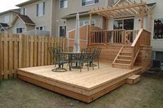 another two level deck