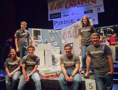 University of Arizona's Rube Goldberg Club won last year's Rube Goldberg Legacy Award