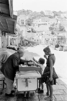 Hydra. Greece, 1961 Photo by Soula Kanellopoulou