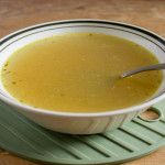If you have an onion, a couple of carrots, and a couple sticks of celery, you can have broth.