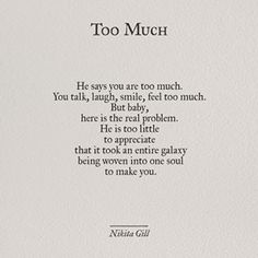 53 ideas for quotes poetry feelings nikita gill Now Quotes, Life Quotes Love, Words Quotes, Great Quotes, Wise Words, Quotes To Live By, Inspirational Quotes, Weak Man Quotes, Love Again Quotes