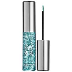 Urban Decay Heavy Metal Glitter Eyeliner AMP (light blue w/ iridescent glitter) $20