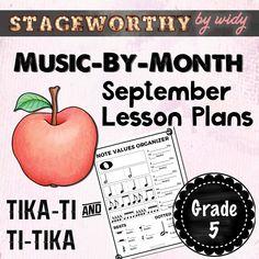 Tika ti & Ti tika Rhythm Lesson for Grade 5