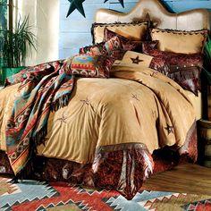 Southwest - Western - Decor - Bedding