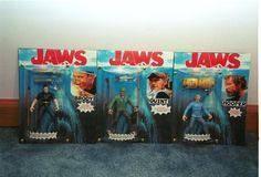 Mike Lorenz has created some amazing custom JAWS figures of Brody, Quint, and Hooper. Classic Monsters, Custom Action Figures, Getting Drunk, Sideshow Collectibles, Cool Toys, Horror Movies, Bing Images, Nerd, Cool Stuff
