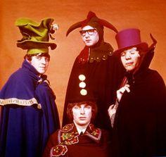 The Paramounts, circa 1966 (Gary Brooker, Dix Derrick, Phil Wainman with…