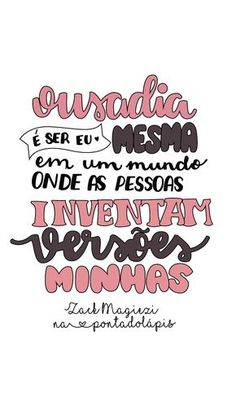 Pin on frases Lettering Tutorial, Motivational Phrases, Inspirational Quotes, Positive Energie, Instagram Blog, Girl Power, Texts, Positivity, Poster