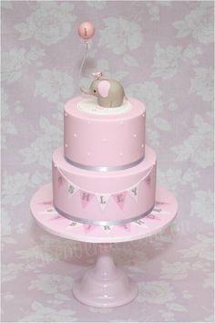 elephant balloon cake - Google Search