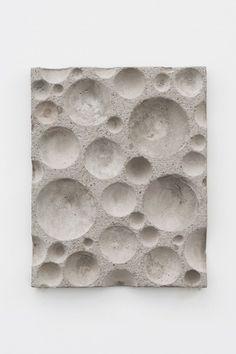 Konkaves Kugel-Relief No. 1 2012 concrete 67 x 53,5 x 6 cm