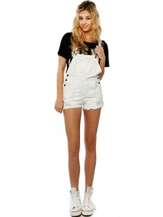QUTY DESTROYED DENIM OVERALL #OVERALL #DENIM | All-in-one ...