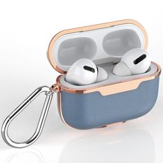 Shockproof TPU Gel Portable Protection Soft Case Cover Skin with Carabiner Clip Keychain Compatible with Airpods 2 /& 1 Simple Zodiac Signs