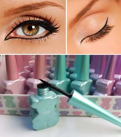 Liquid eyeliner waterproof smudge proof