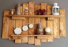 pallet decor shelf idea