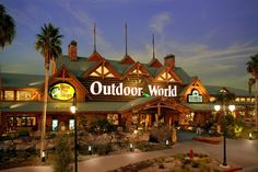 Bass Pro Shop- best thing about Las Vegas. Las Vegas, Bass Pro Shop, Outdoor Outfitters, Travel Center, Shop Buildings, Road Trip Usa, Usa Trip, Months In A Year, Travel Usa