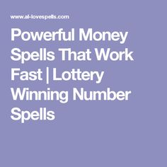 Powerful Money Spells That Work Fast Wiccan Spells Money, Powerful Money Spells, Money Spells That Work, Luck Spells, Witchcraft, Magick, Pagan, Lottery Strategy, Lottery Tips