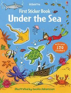 Usborne Books First Sticker Book Under the Sea