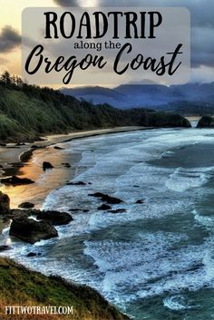 Tips for visiting the Oregon Coast on a day trip. Oregon Coast is is a great day trip from Portland, Oregon! Between the cliffs, the lighthouses, and the state parks, there is plenty to see and do! Fittwotravel.com
