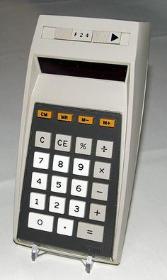 Vintage Montgomery Ward Pocket LED Calculator, Model P200 (aka TXI-8662A), Made by Texas Instruments - Closely Related to the TI-2550, Made in USA, Circa 1973.