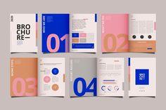 Portfolio Design Layouts, Page Layout Design, Web Design, Graphic Design Trends, Graphic Design Posters, Layout Book, Brochure Layout, Brochure Template, Layout Template
