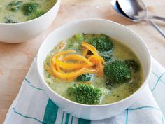 Creamy Broccoli-Cheese Soup | Maintaining a healthy weight or trying to lose a few pounds ultimately revolves around the science of counting calories. It's a tedious task to tabulate every morsel you put in your mouth, but there's a simpler and much more flexible strategy: Start a file of skinny recipes. Use this collection of low-calorie dinners as a starting point. As always, taste comes first, so we've pulled together our best recipes that are big on flavor and in step with all the latest
