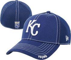 Kansas City Royals Blue 39THIRTY Neo Stretch Fit Hat #royals #mlb #kansascity