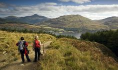 Walking in Loch Lomond & The Trossachs National Park