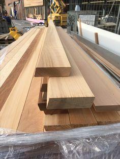 25 x 90mm Rhombusprofil Western Red Cedar Fassade