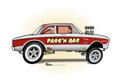 (2) The CARtoon Speed Shop