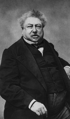 Alexandre Dumas, 1802-1870. French author of history and adventure novels: The Three Musketeers, The Count of Monte Cristo.