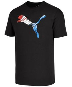PUMA Puma Men S Logo-Print T-Shirt.  puma  cloth  shirts b40cdca0bf35