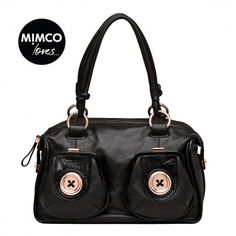 METAL BUTTON ZIP TOP - Shoulder Bags - Bags - Mimco