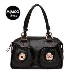 METAL BUTTON ZIP TOP - Shoulder Bags - Bags - Mimco