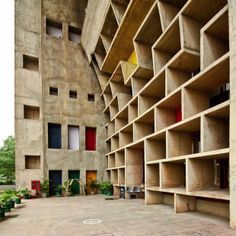 A large presence and inspiration in my imagination Le #Corbusier, The Chandigarh High Court #architecture