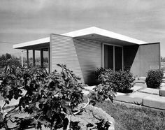 Frey House I, Palm Springs CA | Architect : Albert Frey