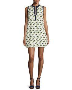 TORY BURCH Floral-Print Beach Dress, New Ivory. #toryburch #cloth #
