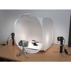 Portable Photo Studio - $50.00 - for those of us too lazy or all thumbs to make our own.