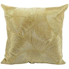 Mina Victory Fan Beaded Throw Pillow (550 SAR) ❤ liked on Polyvore featuring home, home decor, throw pillows, gold, patterned throw pillows, beaded accent pillows, beaded throw pillows, abstract throw pillows and colored throw pillows