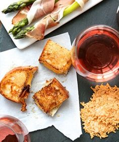 Rosé Tasting For a low-key summer party that's relaxing and educational, host a rosé tasting. Ask each guest to bring a bottle, and set up a sampling party at home or in your favorite park (shh!— we didn't tell you to do that). Make a few cheesy appetizers and have paper ready, so your friends can jot down their favorites!