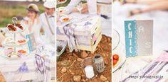 Deco bohem chic picnic provence