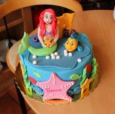Ariel cake - Ariel cake