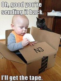 I Think my cat would think this too in its case :P